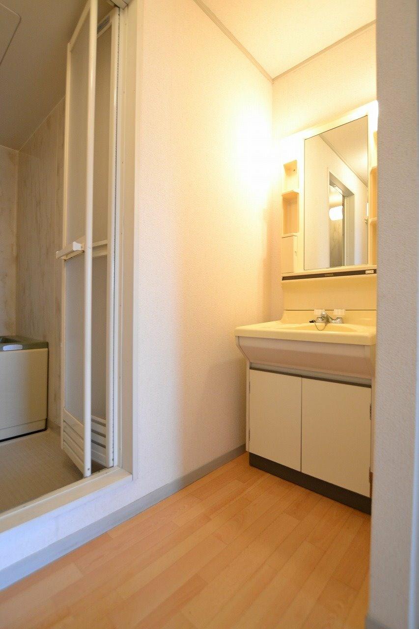 浴室と洗面脱衣室