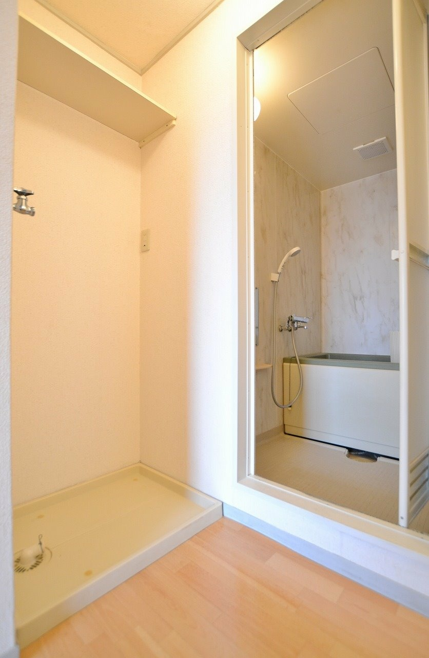 浴室と洗濯パン